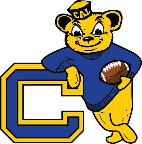 California Golden Bears Wallpaper Cal Bear Logo Cal Bear Pac 12