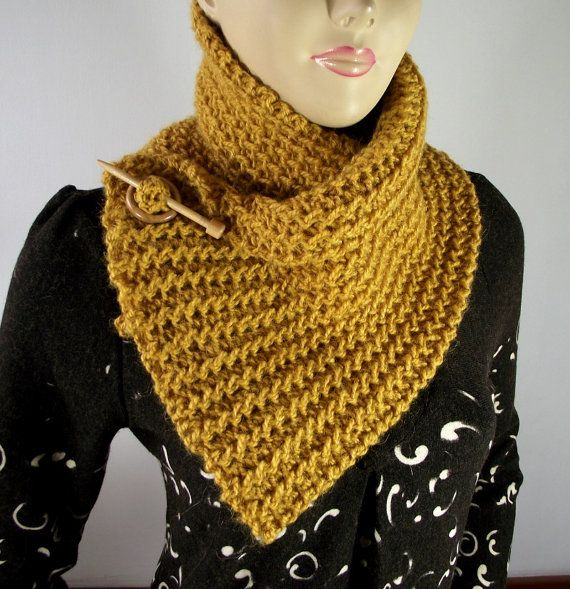 KNITTING PATTERN SCARF Boston Scarf Cowl Pattern Instant Download ...