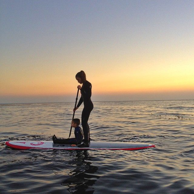 Missing my paddleboard bud // #openwater #paddleboarding #lowrider #california