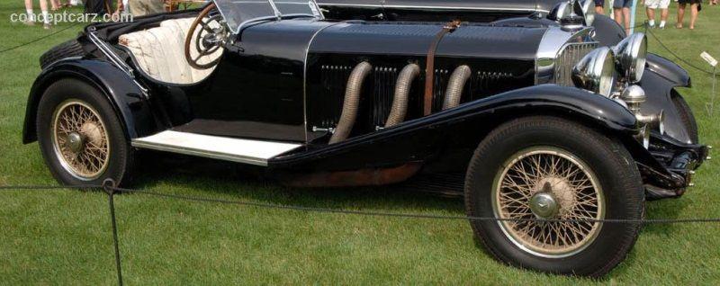 1931 MercedesBenz SSK Sport II