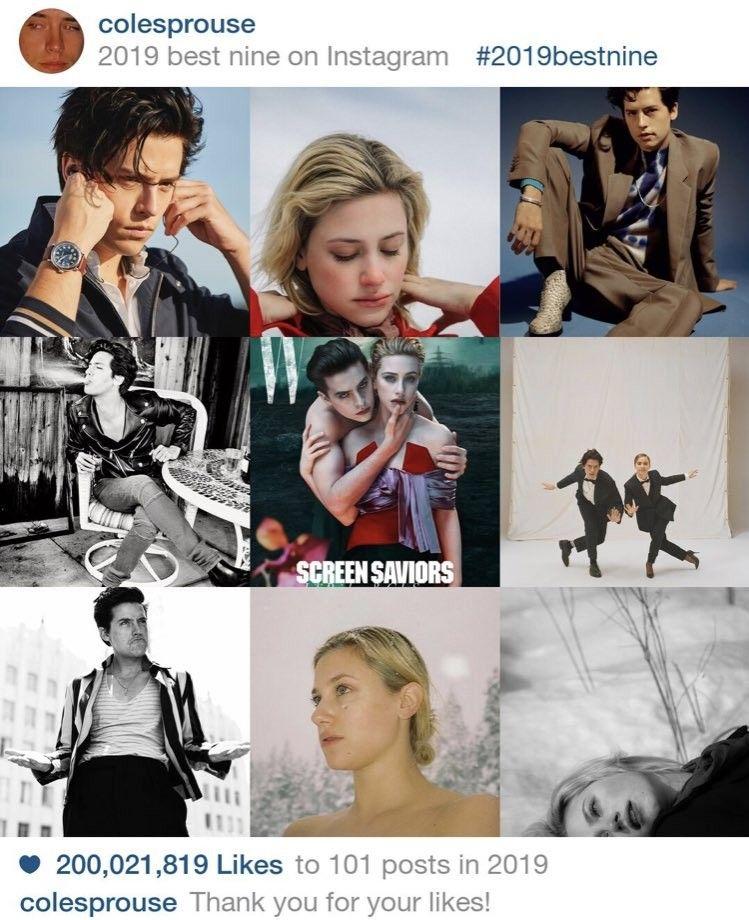 Colesprouse 2019bestnine In 2020 Best Nine Movie Posters Instagram