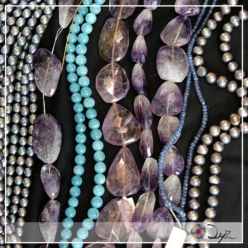 Colores y sensaciones. Esos son los poderes de las piedras.