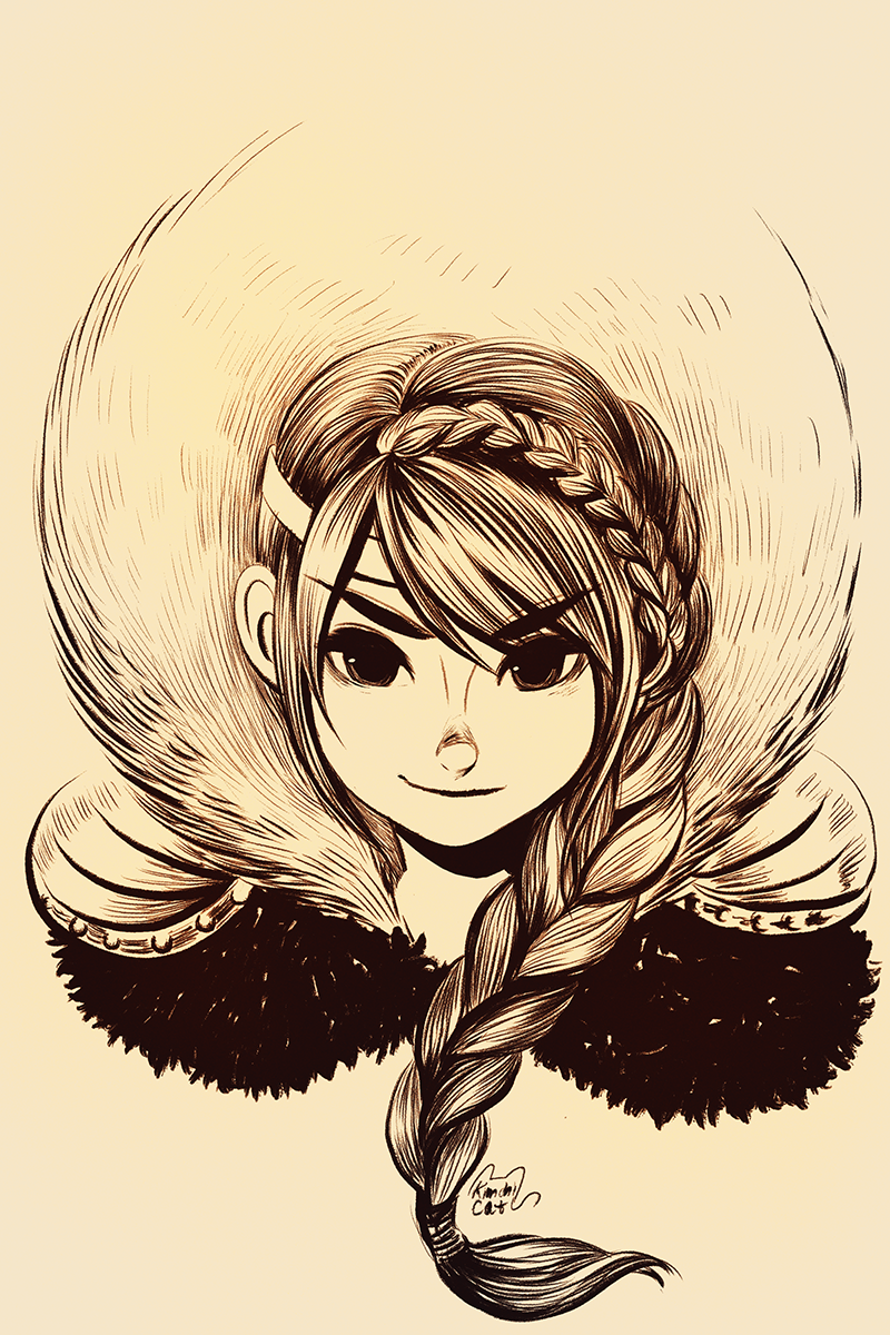 Astrid | How to Train Your Dragon | Pinterest | Dragons, Sketches ...