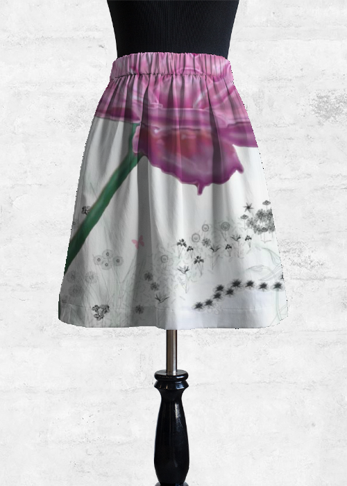 New Styles Online Cupro Skirt - Meant To Be Skirt by VIDA VIDA Discount Exclusive Outlet Affordable Clearance Perfect 1esXfHHe