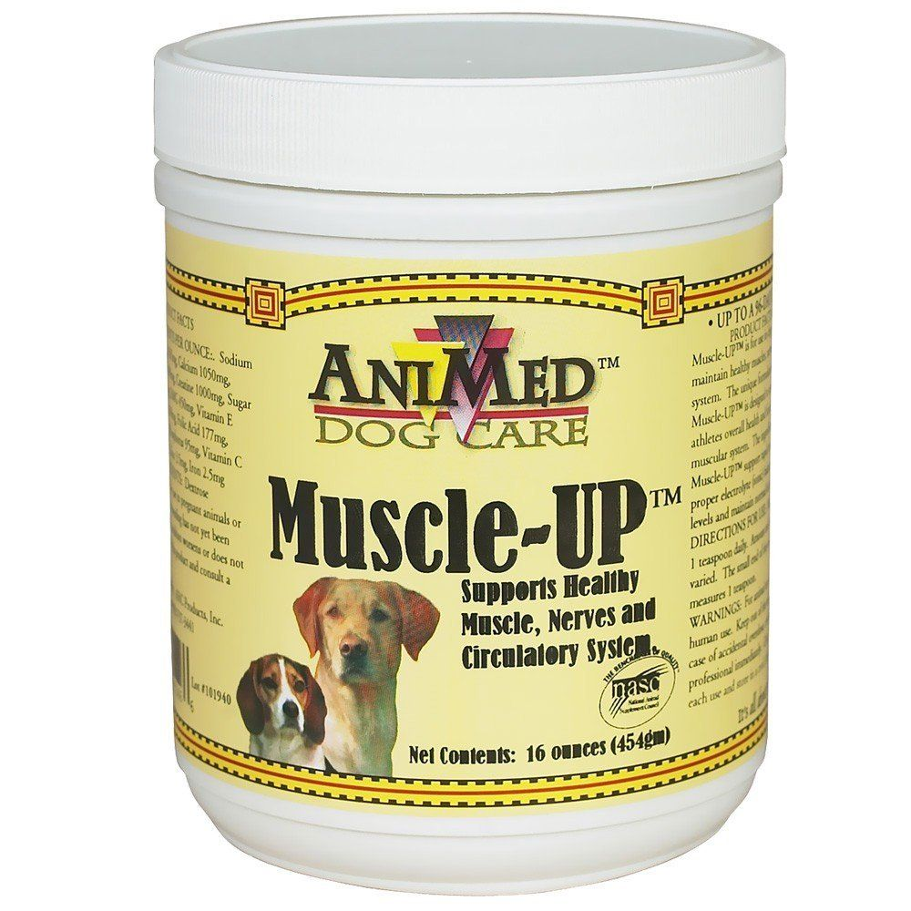 Animed Muscleup Powder 16oz More Infor At The Link Of Image Dog Health Supplies Dog Health Dog Fence Pet Health