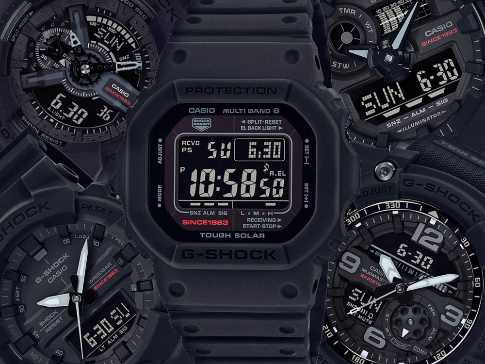 2018 marks the 35th anniversary of the first G-Shock. Here's a collection of special edition watches from the Casio G-Shock 35th Anniversary collection.