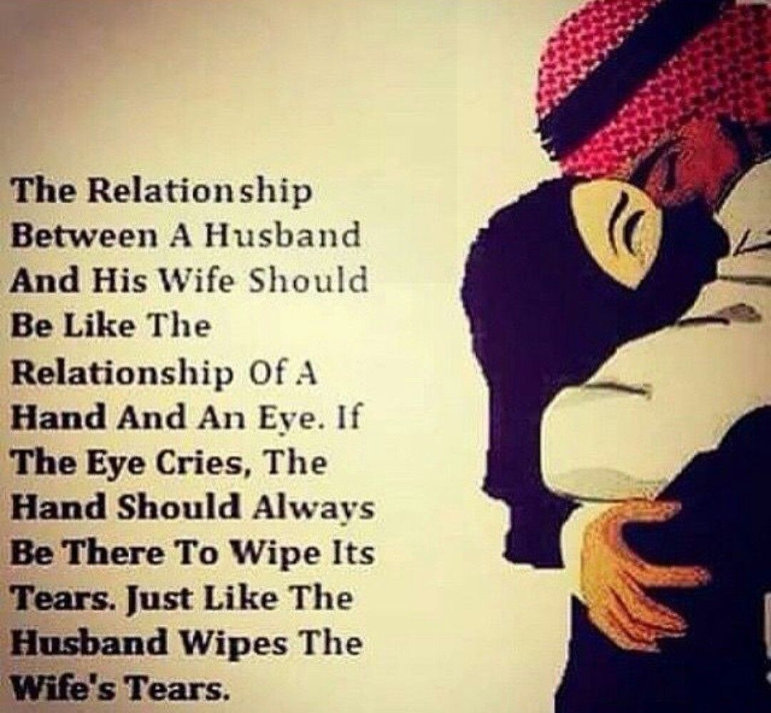 The Relationship Between Husband And Wife Islamic Quotes