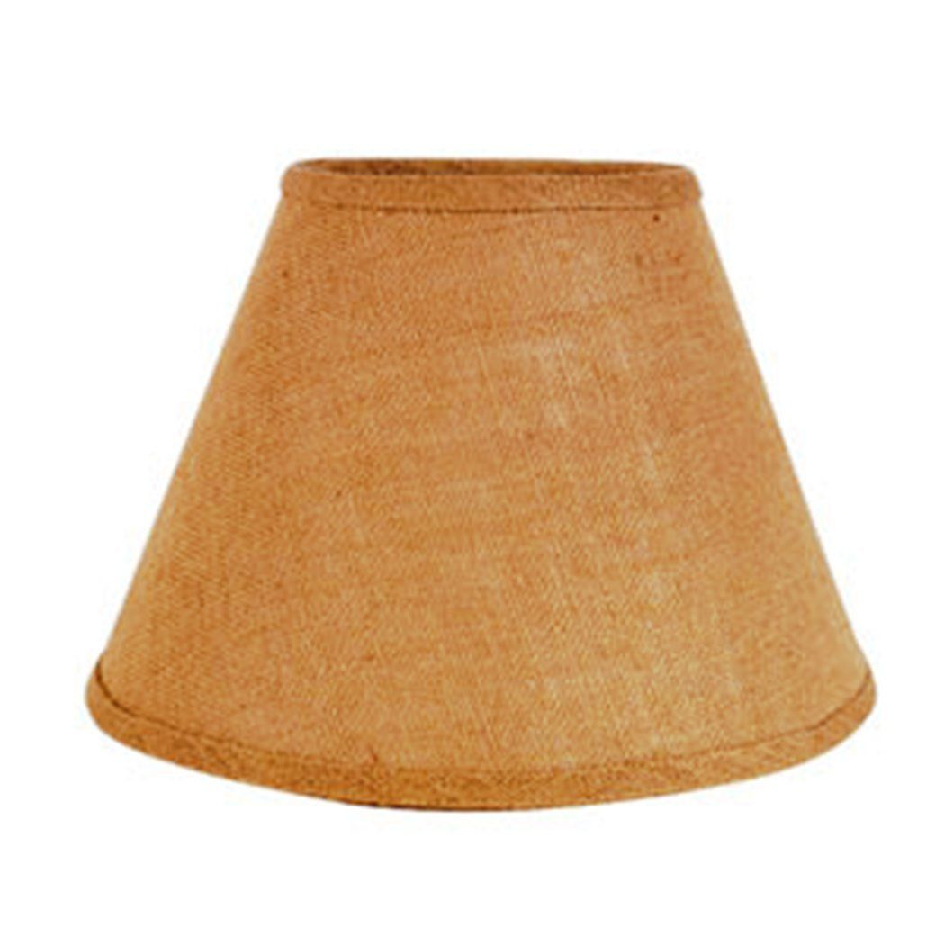 Natural cone shaped 12 x 8 inch burlap lamp shade for more natural cone shaped 12 x 8 inch burlap lamp shade for more information aloadofball Images