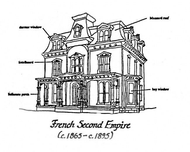 Pin By Vicky Wood On French Second Empire Empire House Empire Style Roof Styles