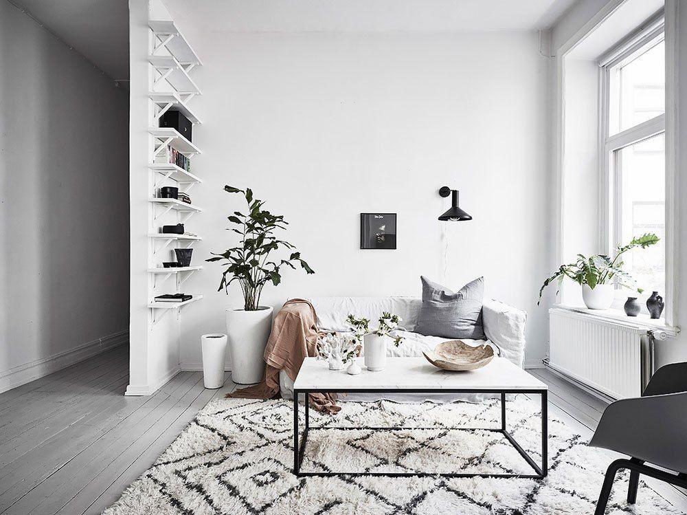 21++ Decoracion de salones estilo nordico trends
