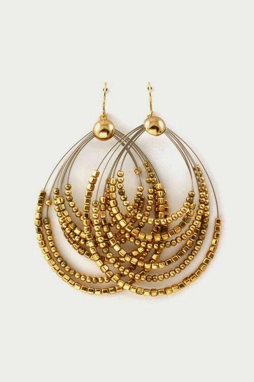 Earrings earrings pinterest beads jewelry ideas and bead earrings earrings aloadofball Choice Image