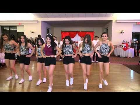 a3c269386 Coreografia de la Quinceañera Tania ( baile sorpresa) - YouTube ...