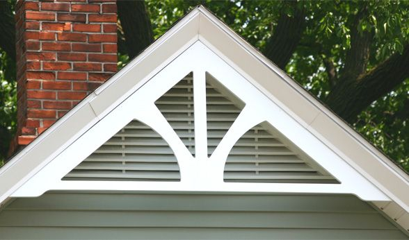 Pin by sharon buchanan on remodeling ideas in 2019 - Exterior house gable decorations ...