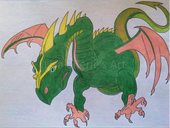 Dragon by Lisa Cherie's Art