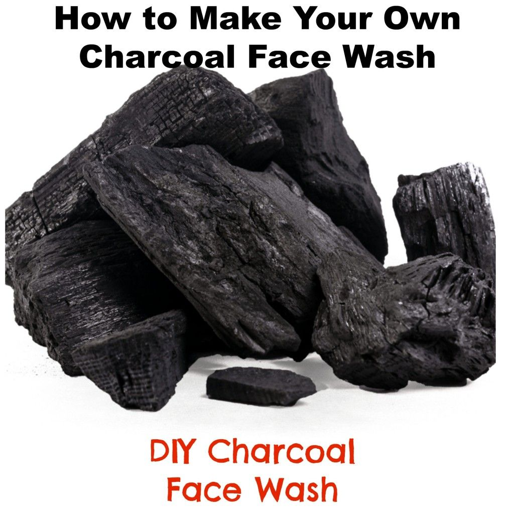 1000 Ideas About Charcoal Face Wash On Pinterest: How To Make Your Own Charcoal Face Wash