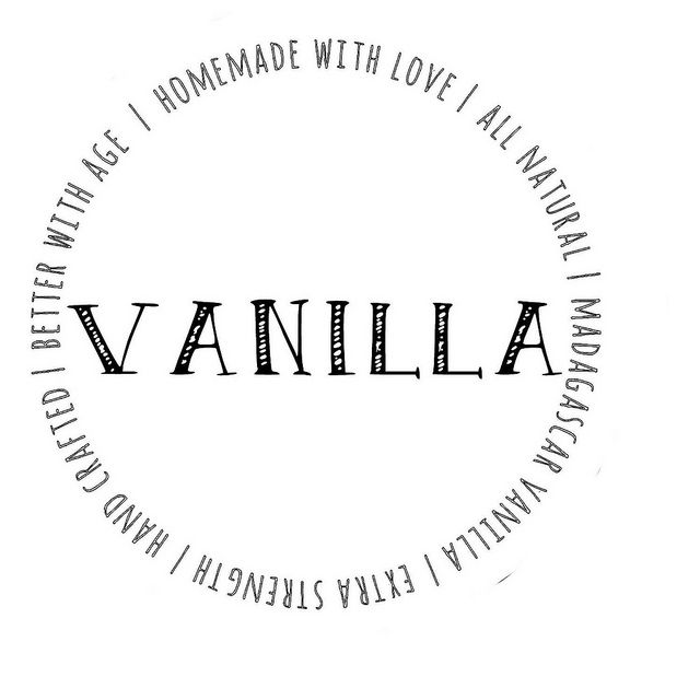 Vanilla Extract Labels Vanilla, Printable labels and Gift - sale tag template