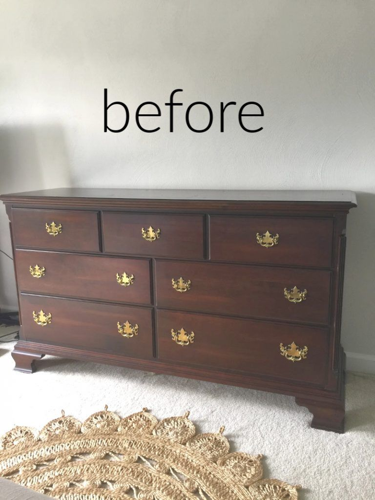 Midnight Blue Fusion Mineral Paint Dresser Makeover Sand And Sisal In 2020 Wood Bedroom Furniture Wood Dressers Makeover Cherry Wood Bedroom
