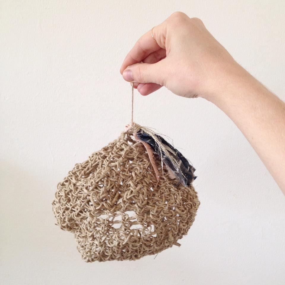 light | hemp | natural material | lantern | home decoration | kid's room | handcrafted | prototype | tassels | still working on it | jørgen & gaspard | studio