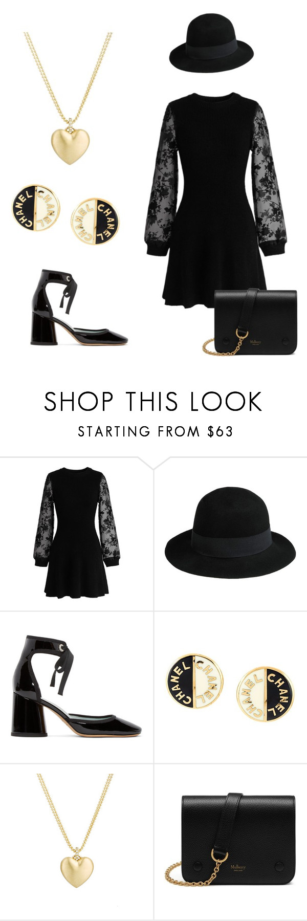 """""""The Witches of New Orleans"""" by mary-w-rogers ❤ liked on Polyvore featuring Chicwish, George J. Love, Marc Jacobs, Chanel, Finn and Mulberry"""