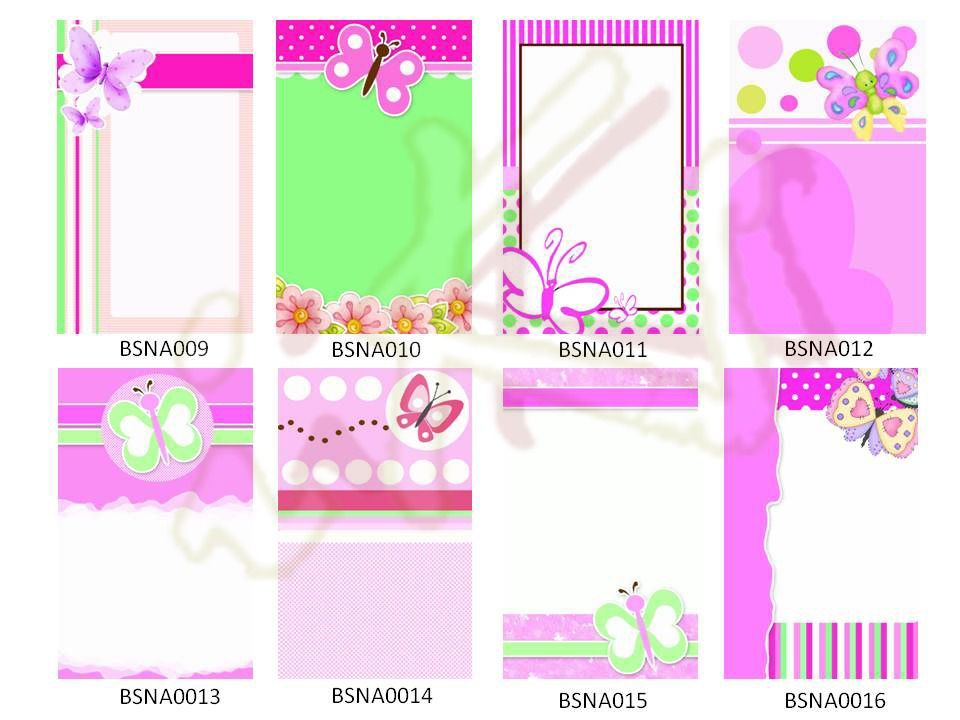 Dise O De Invitaci N Para Baby Shower Mariposas 50