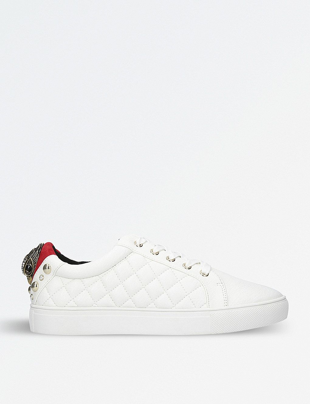 KURT GEIGER LONDON - Ludo quilted eagle