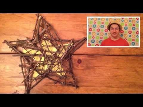 Let's Make Twig Art - Craft #twigart Let's Make Twig Art - Craft - YouTube #twigart