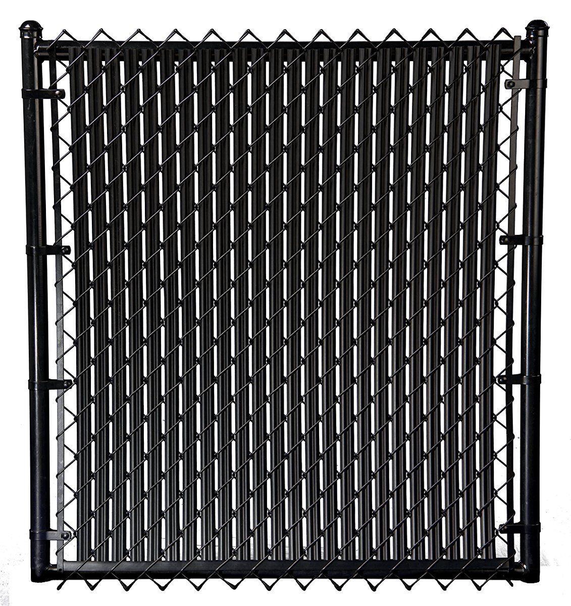 4ft Black Ridged Slats For Chain Link Fence Black Chain Link Fence Painted Chain Link Fence Chain Link Fence