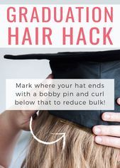 35 Graduation Hairstyles and 3 Hair Hacks to Achieve Them