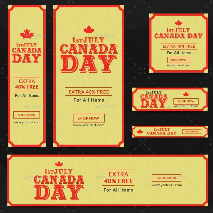 sponsored banners canada day adCanada Day