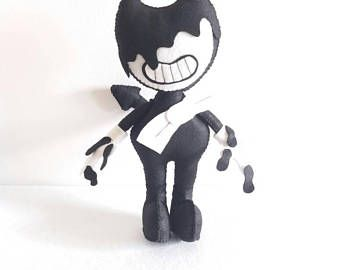 Evil Bendy Plush 10 Unofficial Inspired By The Video Game