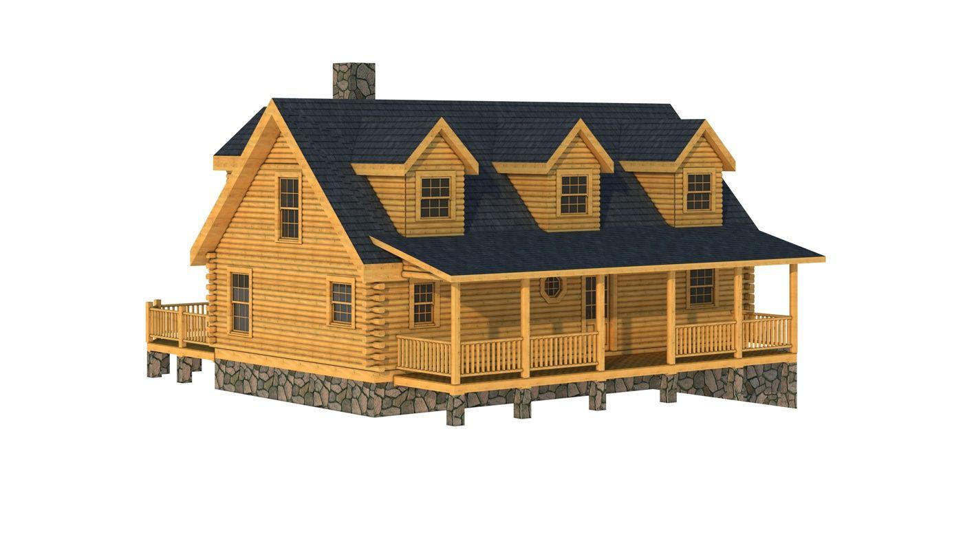 Davidson Log Home Cabin Plans