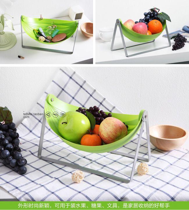 free shipping  creative goods/Folding fruit basket /fruit bowl /Air fryer