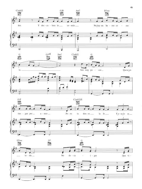 Partitura Gratis Para Piano De Heroe De Mariah Carey Partituras De Piano Sheet Music For Piano Partituras De Piano Gratis Partituras Partituras Gratis
