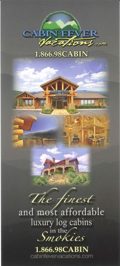Cabin Fever Is One Of The Best Cabins In Pigeon Forge Tennessee.
