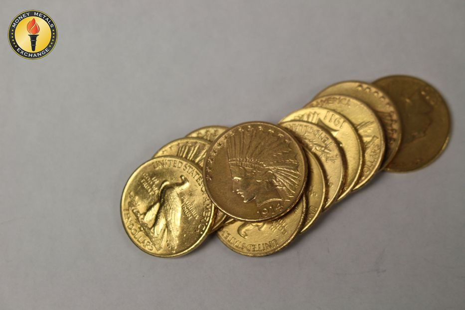 10 Gold Indian Head 1907 1933 0 4838 Troy Ounce Gold Content Gold Bullion Bars Gold Coin Price Indian Head