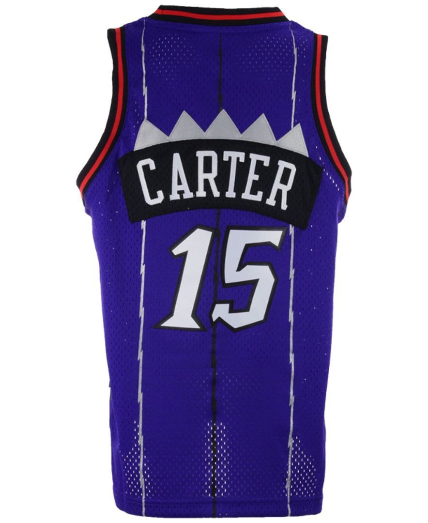 644f978aa410 adidas Kids  Vince Carter Toronto Raptors Retired Player Swingman Jersey