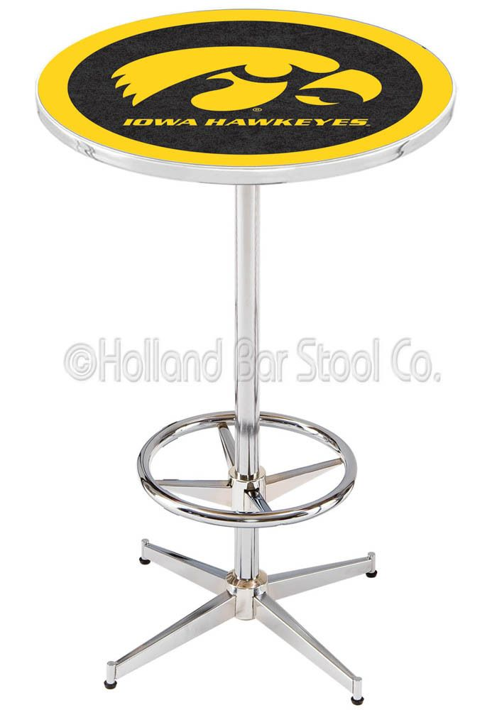 Iowa Hawkeyes Pub Table- Man Cave Furniture | Hawkeyes | Pinterest ...