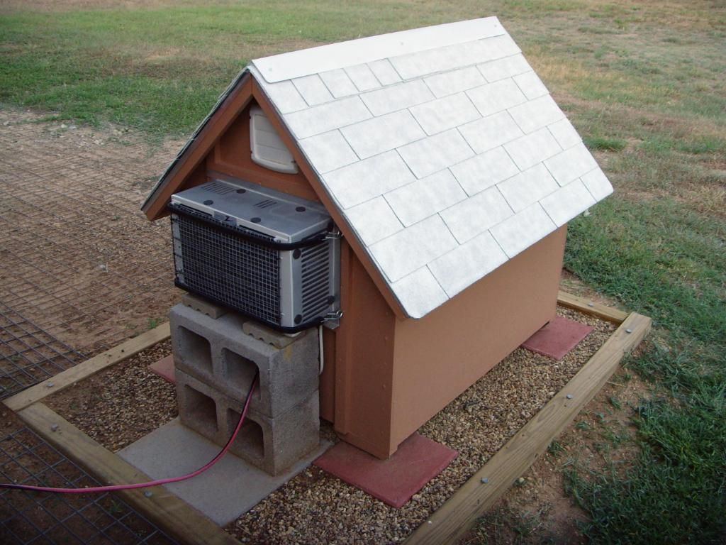 dog house with AC | things for Jeff =) | Pinterest | Dog houses ...