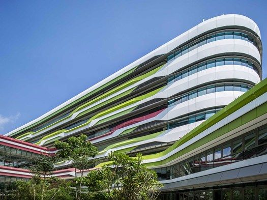 SINGAPORE: IL NUOVO CAMPUS FIRMATO UNSTUDIO E DP ARCHITECTS