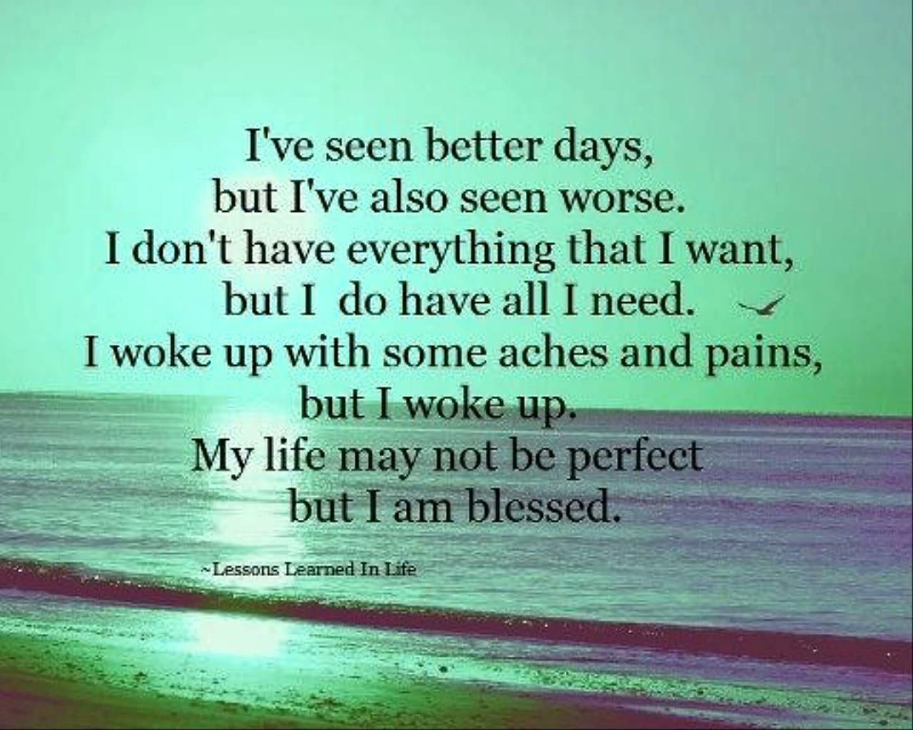 i am blessed quotes - photo #6