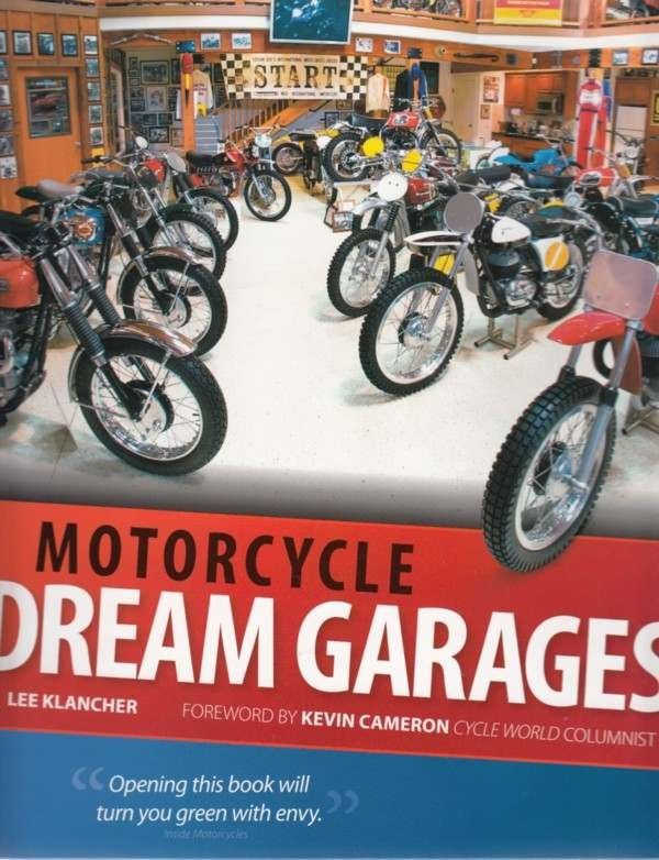 Automoto Bookshop - Motorcycle Dream Garages (Flexible Book Cover Edition), $29.99 (http://www.automotobookshop.com.au/motorcycle-dream-garages-flexible-book-cover-edition/)