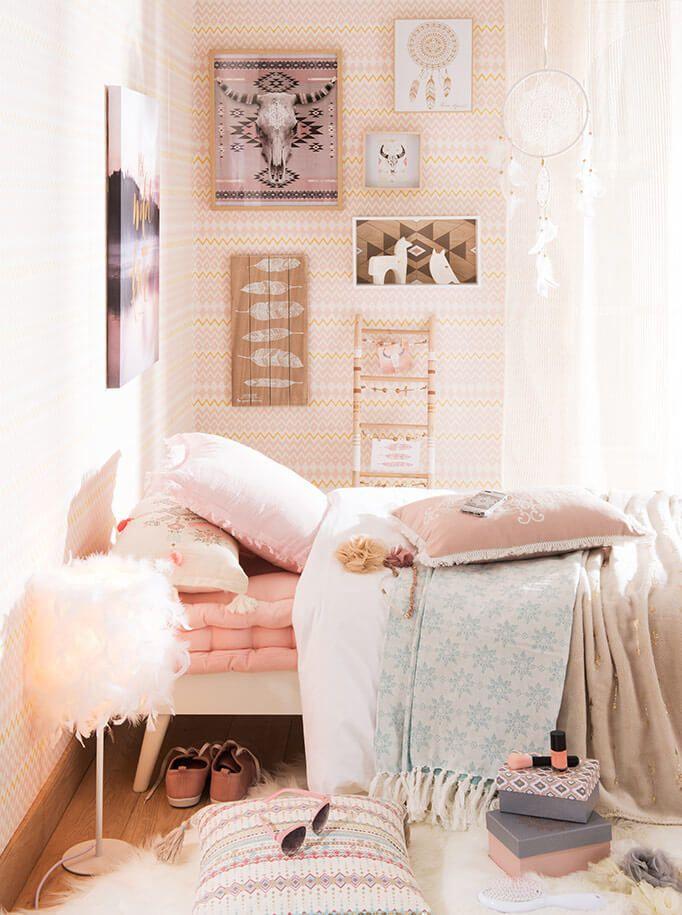 deco chambre fille ado cocooning. Black Bedroom Furniture Sets. Home Design Ideas