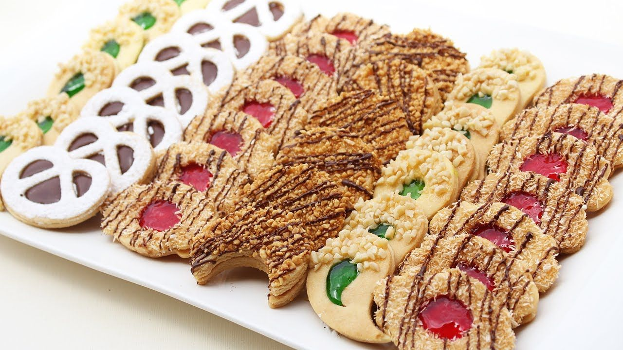 حلويات صابلي مشكلة من عجين واحد أكثرررر من رائعة مع نصائح لنجاح الصابلي Sugar Cookie Gingerbread Cookies Biscuits