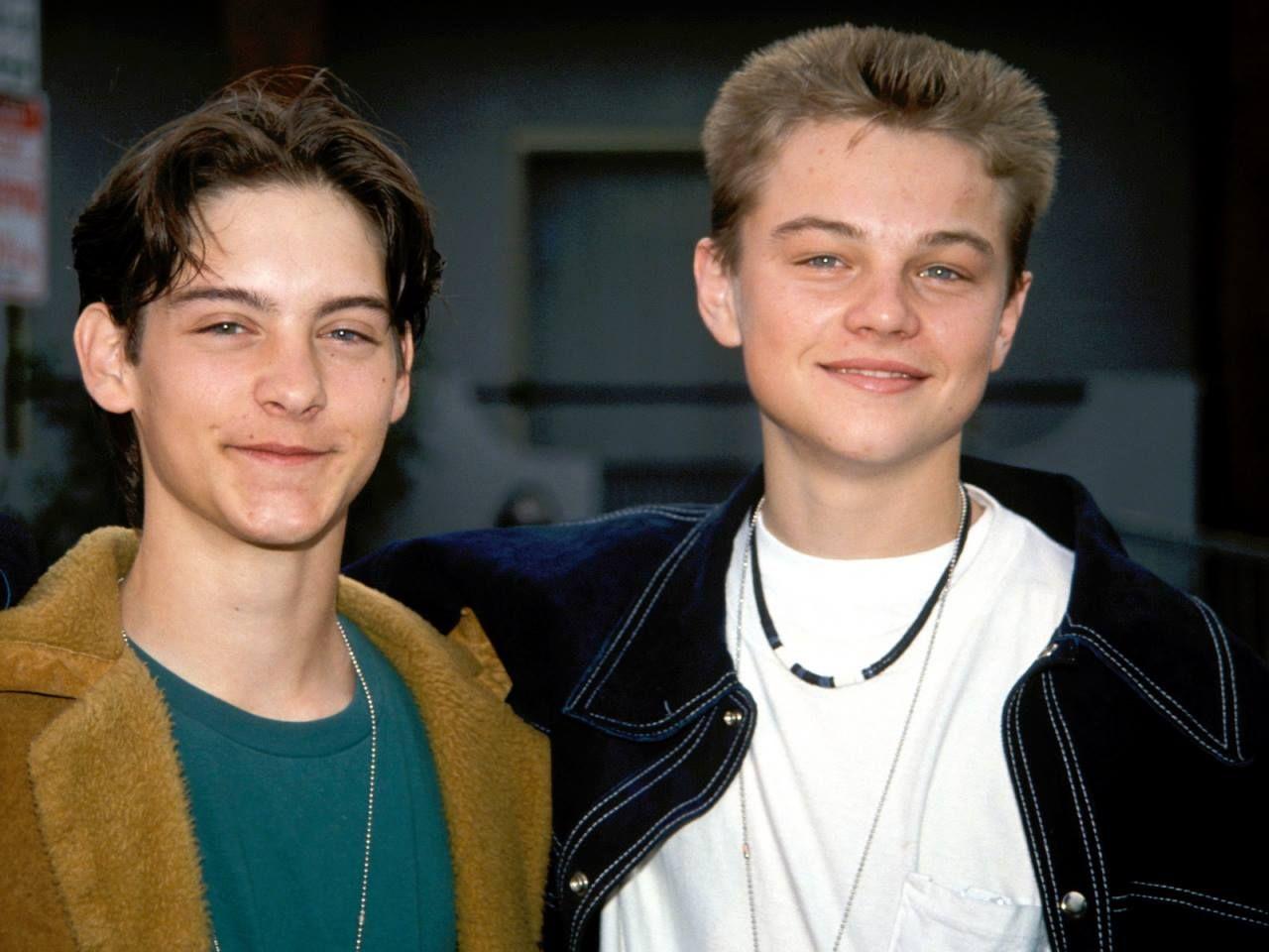 Tobey Maguire & Leonardo DiCaprio | Leonardo dicaprio, Yesterday and today, Tobey  maguire leonardo dicaprio