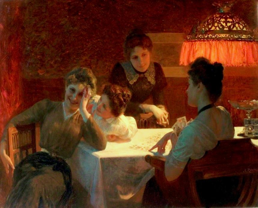 Ritzberger, Albert (b,1853)- Love's Oracle, c 1900 -2a