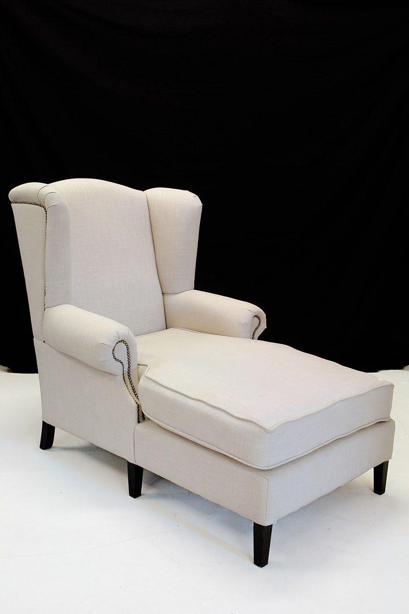 Ohren Liegesessel Mit Textilbezug Im Modernen Design Sitzmobel Sofas