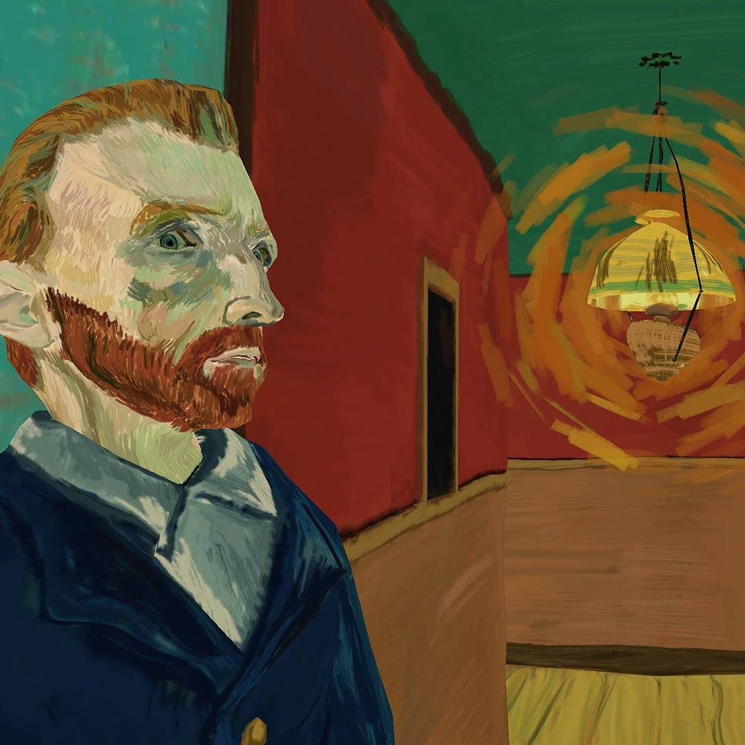 An awesome Virtual Reality pic! #vangogh in his famous Café de Nuit from The Night Cafe VR experience. Coming soon to Vive. #vive #gearvr #gamedev #virtualreality by borrowedlightstudios check us out: http://bit.ly/1KyLetq