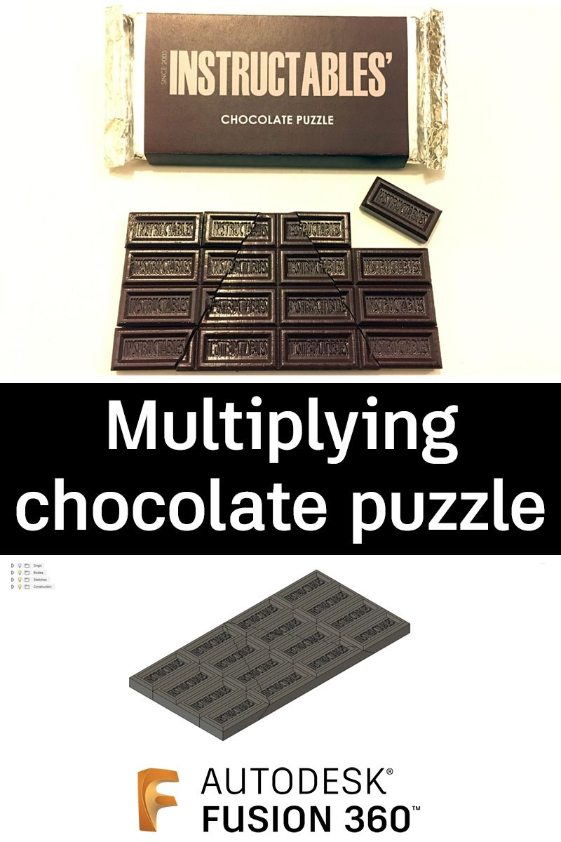 Multiplying Chocolate Puzzle Product development process