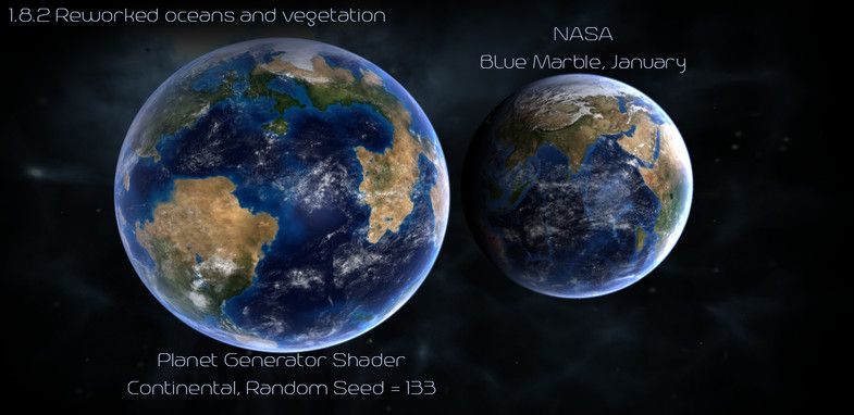 Planet Generator Shader #Generator#Planet#Shader#Shaders
