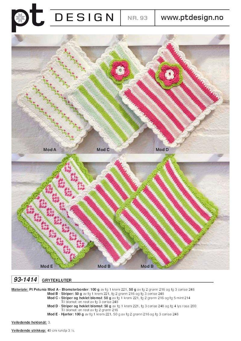 Gratis oppskrift - Rauma Garn   Necklaces   Pinterest